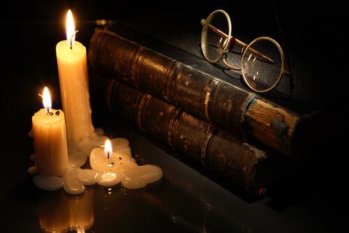 SMプレーの蝋燭