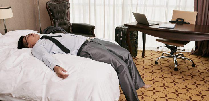 会社と家の往復で仕事疲れ